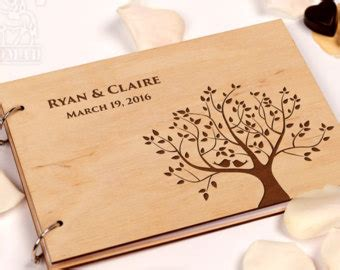 Wedding Album Guest Book by Wedding Guest Books Etsy In