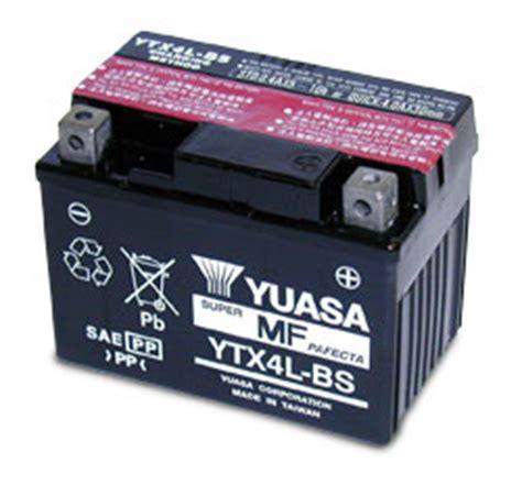 Motorradbatterie 12v 3ah by Drive Shop24 De Ytx4l Bs M 252 Nchen Batterie Akku