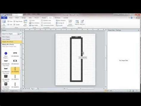 visio 2010 drawing scale microsoft visio scale drawing part 1