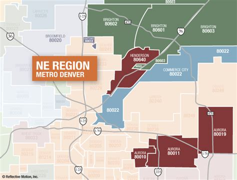 northeast us area code map denver real estate market reports by zip code
