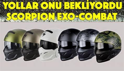 scorpion exo combat kask modeli satisa cikti