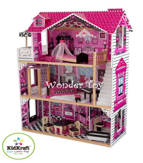 kidkraft amelia doll house 65093 kidkraft dollhouses domek dla lalek amelia kidkraft