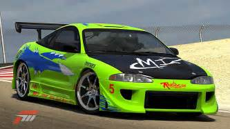 Paul Walker Mitsubishi Eclipse 1995 Mitsubishi Eclipse The Fast And The Furious The