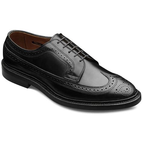 allen edmonds oxford shoes cordovan macneil wingtip lace up oxford s dress