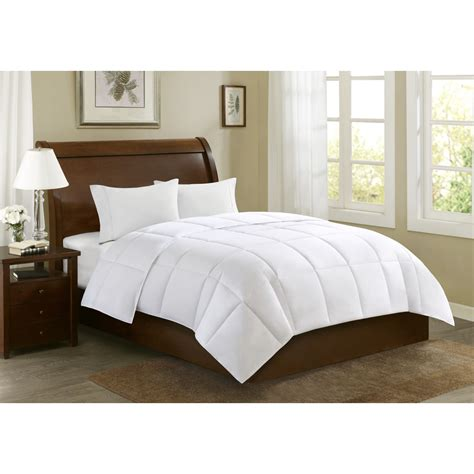thick down alternative comforter machine washable microfiber comforter kmart com