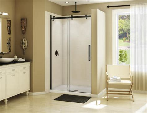 Maax Sliding Shower Doors by Spray Paint