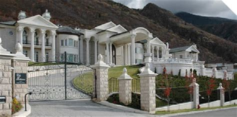 Huge Luxury Homes a look at utah mega mansions homes of the rich