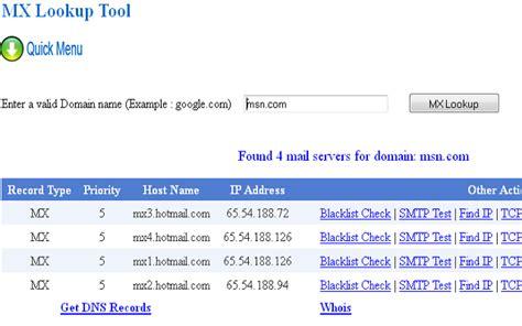 Mx Lookup Mx Lookup Tool Chrome Web Store