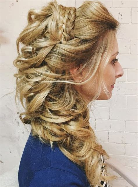 Wedding Hair Up At One Side by 40 Gorgeous Wedding Hairstyles For Hair