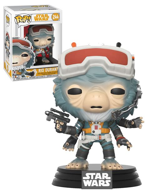 star wars a pop funko pop star wars solo a star wars story 244 rio durant new mint condition your