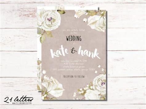 rustic wedding invitation template printable invitations wedding invitation template printable rustic invitation