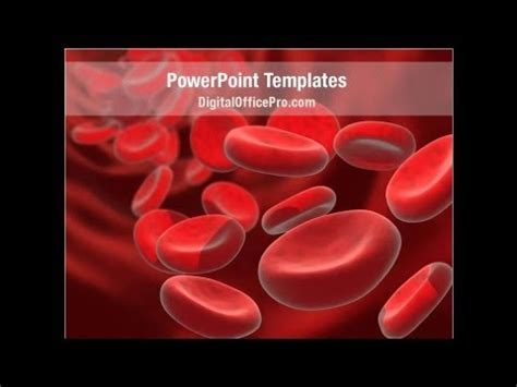 powerpoint themes free download blood red blood cells stream powerpoint template backgrounds
