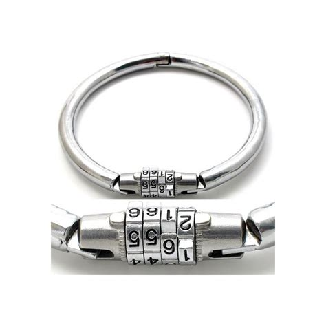 Combination Lock Number Lock Slave Collar personalized necklace     Shop