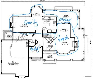 Floor Plans For Building A House by Home Floor Plan Designs General Layout