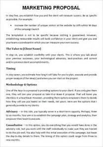 17 marketing proposal templates free sample example