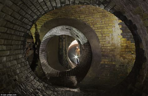 imgur photo has scary hidden illusion daily mail online london underground photos miles of ornate brickwork