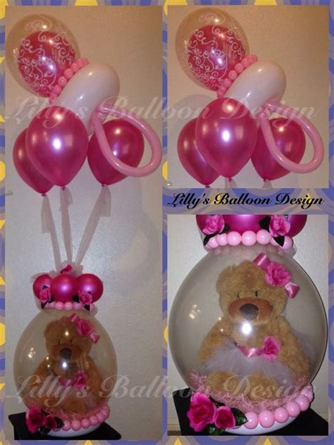 Baby Shower Balloon Bouquet by Stuffed Balloon Gift For Baby Shower Well Done With