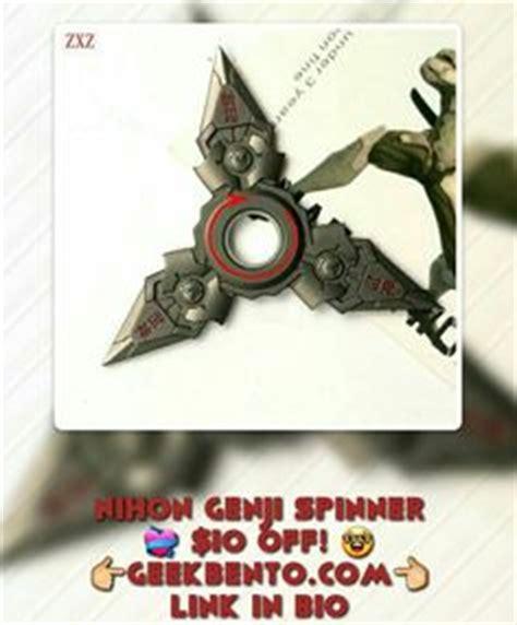 Fidget Spinner Metal Series Finger Spinner Anime Lunar overwatch oni genji fidget spinner