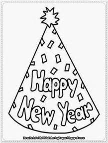 new year coloring page new year printable coloring pages free printable