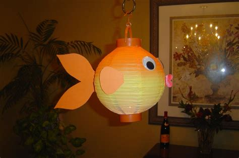 Paper Lanterns Craft Ideas - paper lantern fish craft ideas paper