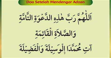 download mp3 adzan menyentuh hati download doa mendengar adzan dan setelah adzan sunnah