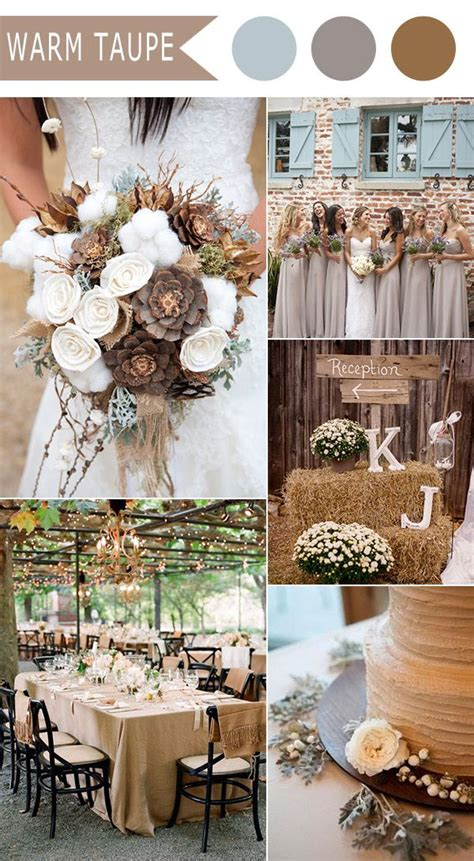 wedding colour themes autumn and winter weddings top 10 fall wedding color ideas for 2016 released by