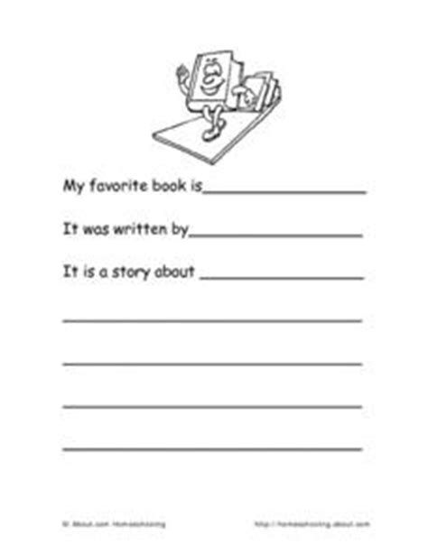 Free Book Report Templates For Kindergarten Kindergarten Book Report Template Worksheet For