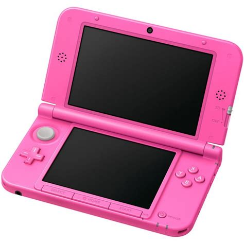 console store nintendo 3ds xl pink console animal crossing new leaf