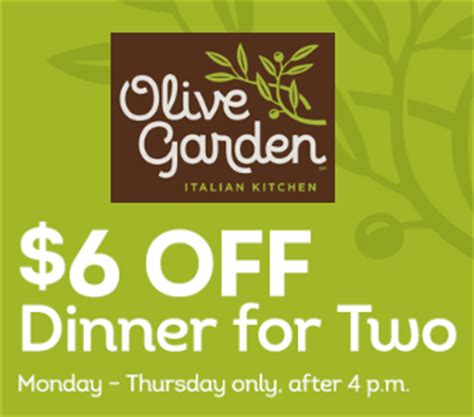 olive garden coupons usa 2015 olive garden coupon 6 off dinner for two who said