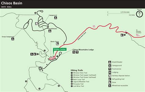 big bend national park map big bend national park trail map images