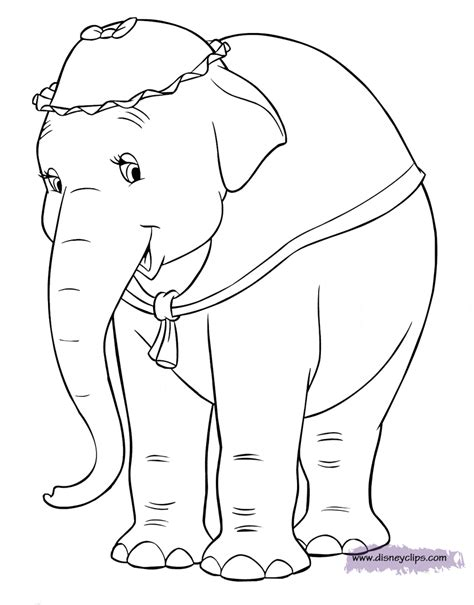 Disney Dumbo Printable Coloring Pages Disney Coloring Book Dumbo Coloring Pages