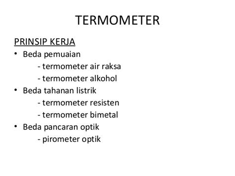 Termometer Ruangan Air Raksa pengaruh suhu terhadap kulit modul kulit dan jaringan