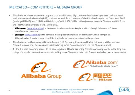 alibaba e commerce case study mercateo future watch case study