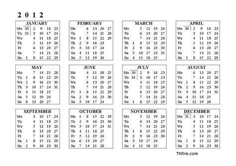 printable calendar horizontal calendar horizontal calendar template 2016