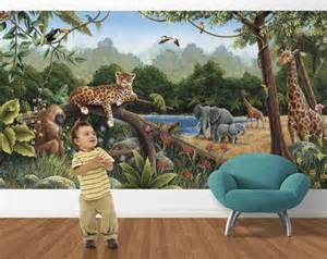 rainforest bliss wall mural rainforest wall mural themuralstore com