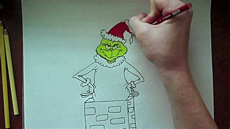 how to draw grinch youtube the grinch drawing youtube