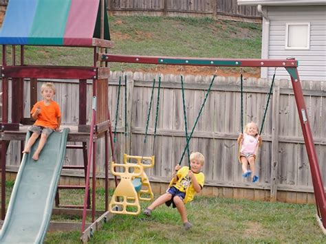 craigslist swing sets we paid cash a new to us swing set money saving mom 174