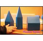 S&243lidos Geom&233tricos Montessori – Tarjetas Para Imprimir