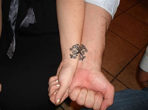 matching ring tattoos for couples 24 best friends wrist designs