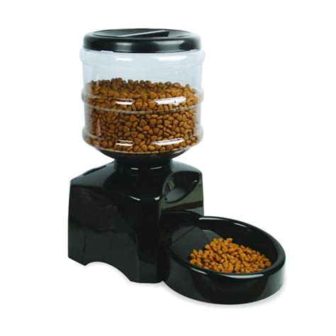 programmable timer automatic pet food feeder for dog and