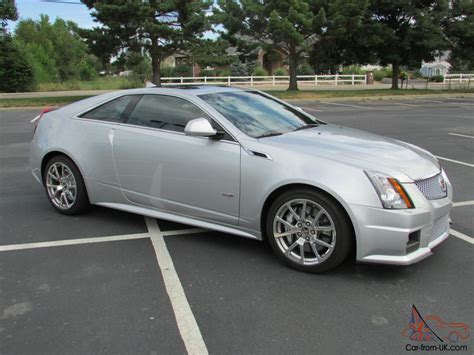 Cts 2 Door by 2012 Cadillac Cts V Coupe 2 Door 6 2l One Owner Only