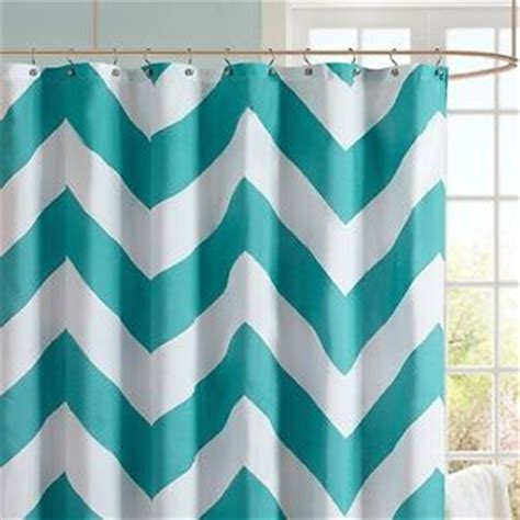 blue and white chevron shower curtain teal chevron shower curtain kids guest bathroom turquoise