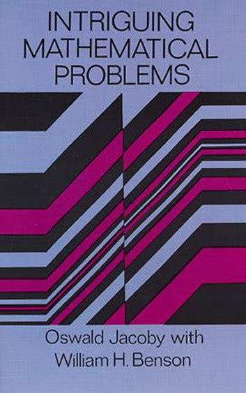 Intriguing Mathematical Problems Ebook By Oswald Jacoby