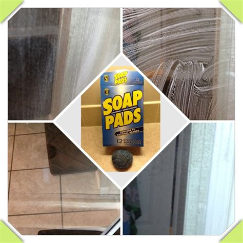 Best Thing To Clean Shower Doors Remove Soap Scum The Only Thing You Need To Clean Soap Scum Buildup A Glass Shower Door