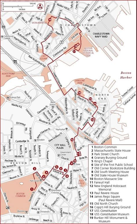 freedom trail boston map freedom trail need to and shoes on