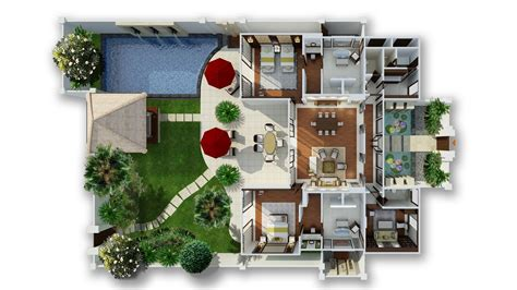 Pool House Plans With Bathroom Private Pool Villas In Bali Two Bedroom Pool Villa At
