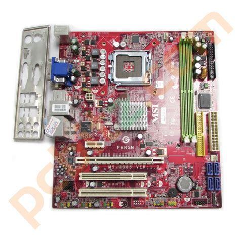 Msi Sockel 775 by Msi Ms 7366 Ver 1 0 P6ngm Fd Socket 775 Motherboard With Bp Ebay
