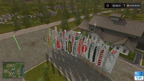 placeable flags v1 1 mod ls 2017 farming simulator 2015