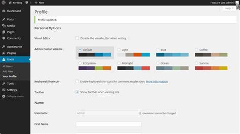 wordpress tutorial edit home page how to change your password in wordpress fastwebhost