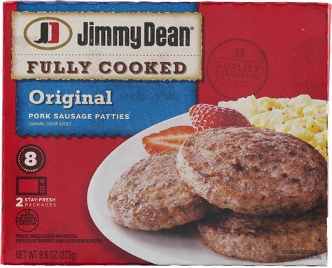 nutrition data jimmy dean turkey sausage patties